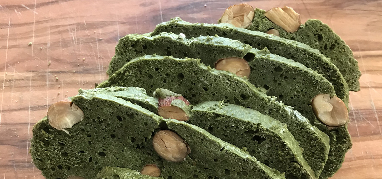 抹茶ビスコッティ-biscotti-greentea