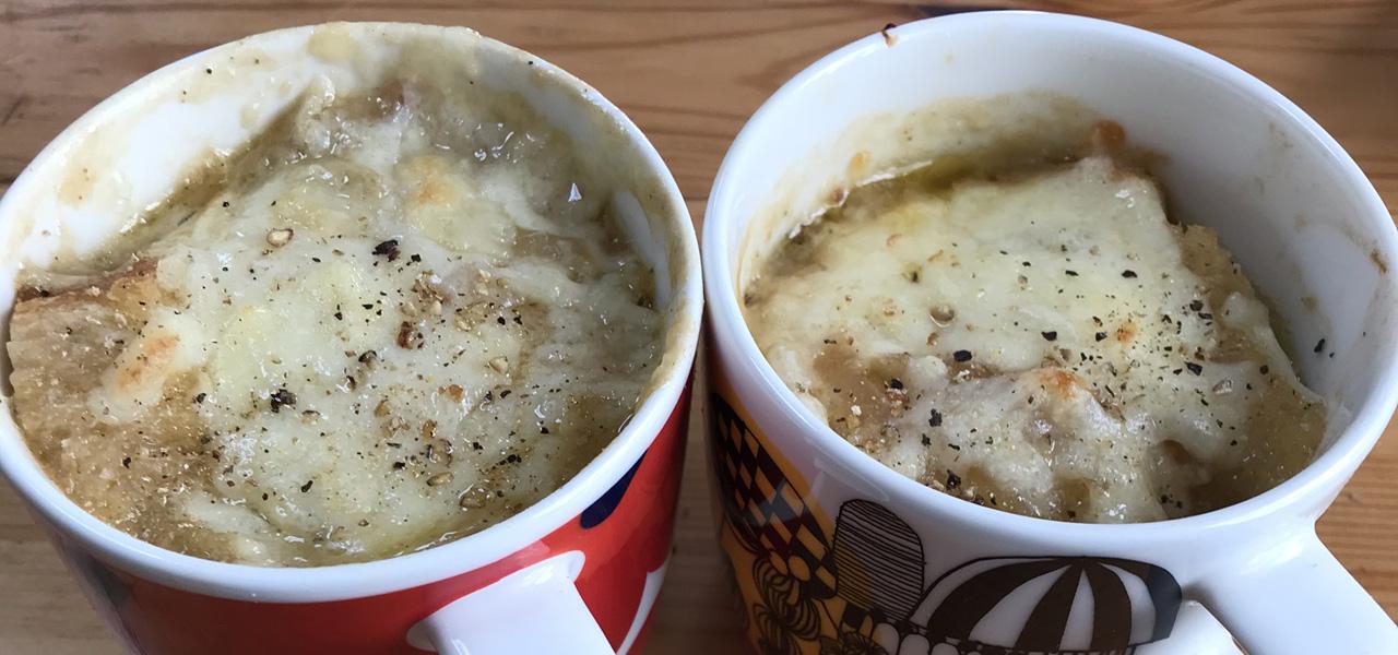 オニオンスープ-soupe-a-loignon